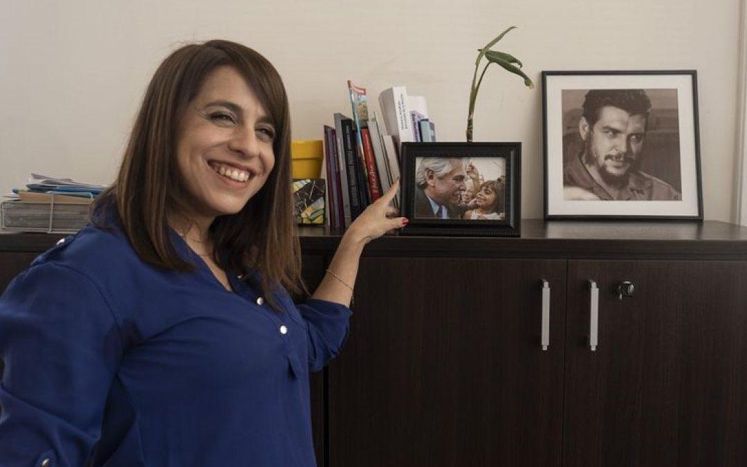 Entrevista realizada a Victoria Donda en elDiarioAr