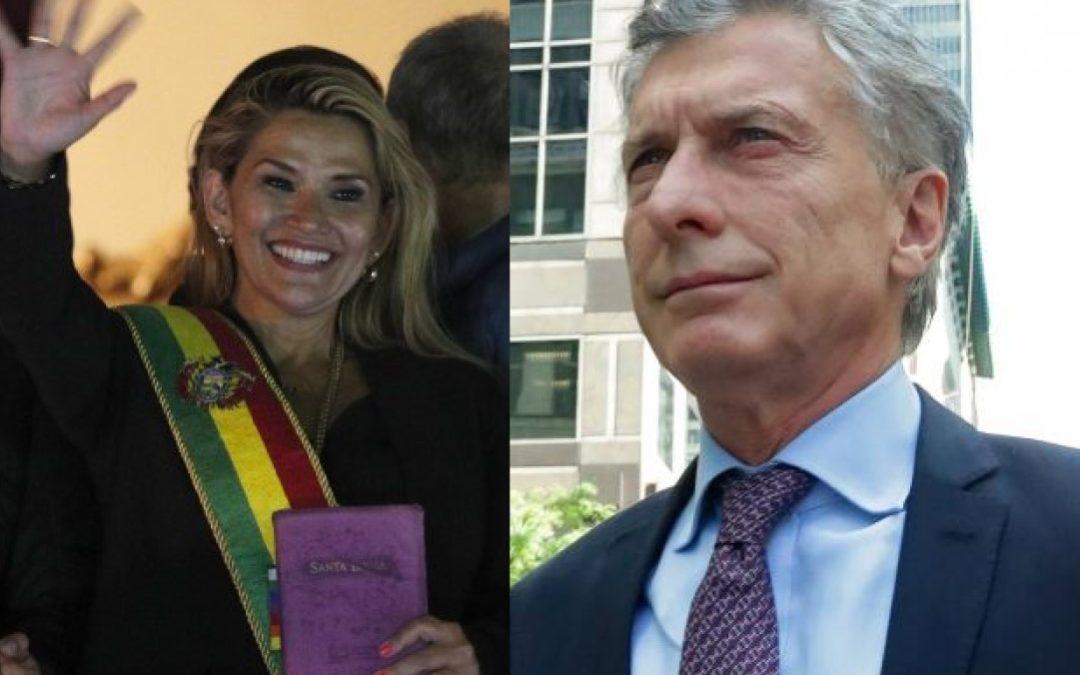Vergüenza: Macri y el apoyo al golpe de estado en Bolivia